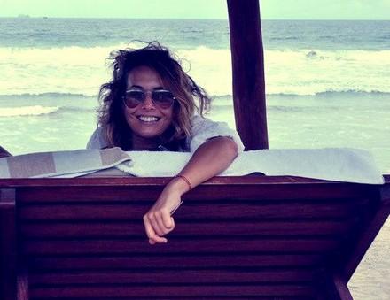 Беременная Жанна Фриске опубликовала фото из Майами