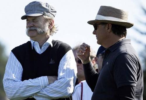 Билл Мюррей и другие знаменитости предпочитают гольф / Главный блог /