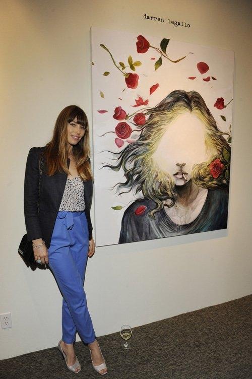 Джастин Тимберлейк и Джессика Бил посетили художественную выставку / Главный блог /