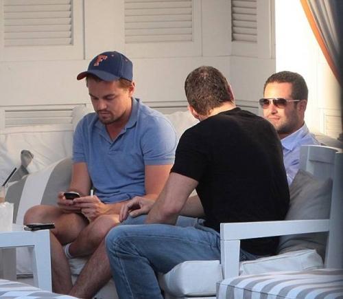 Леонардо Ди Каприо продолжает отдыхать в Майами / Главный блог /